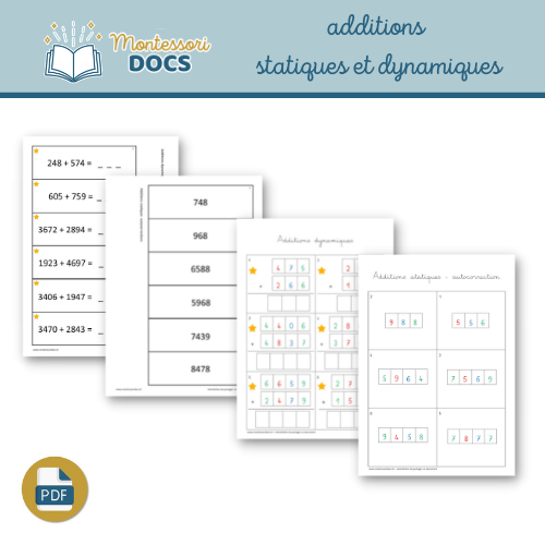 cartes additions autocorrectives