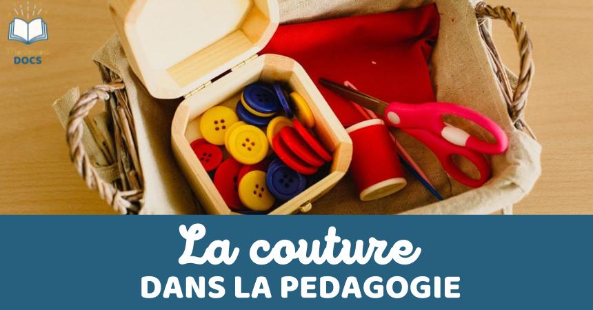 Fabriquer du matériel de couture Montessori (cartes à coudre)
